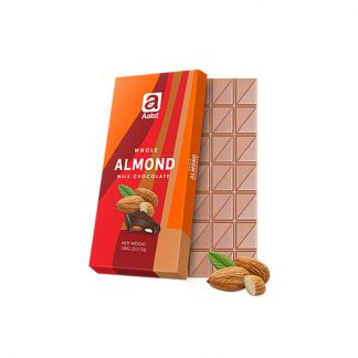 Aalst Whole Almond Milk Chocolate 100 gram