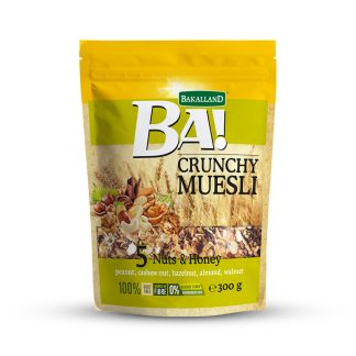 Bakalland BA! Crunchy Muesli 5 Nuts & Honey 300 gram