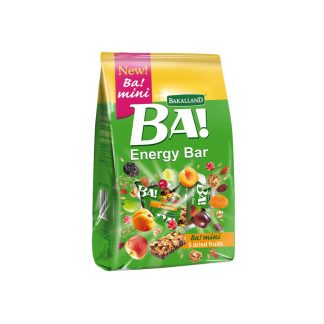 Bakalland BA! Energy Bar BA! Mini 5 Dried Fruits 150 gram