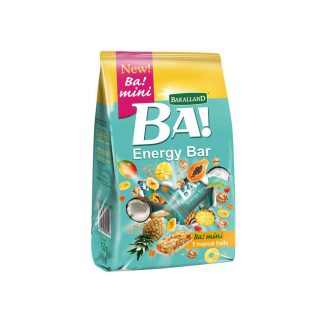 Bakalland BA! Energy Bar BA! Mini 5 Tropical Fruits 150 gram