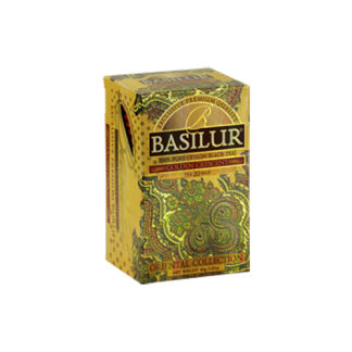 Basilur Tea Oriental Golden Crescent Tea Bags 40 gram