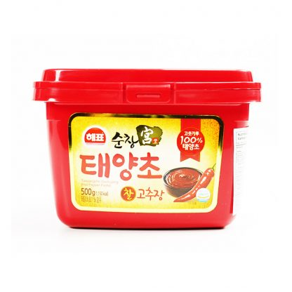Sajo Gochujang Hot Pepper Paste (Pasta Sambal Merah) 500 gram