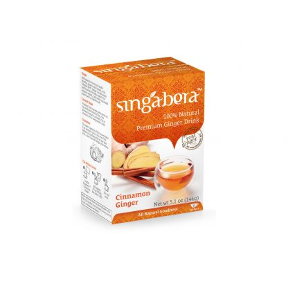 Singabera Ginger Drinks – Cinnamon 12 sachet 144gr