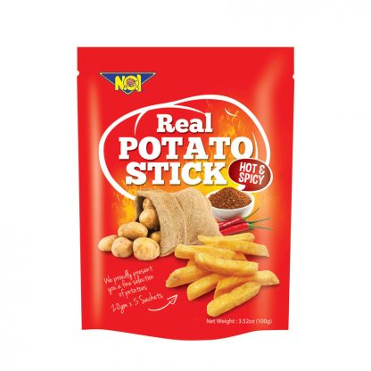 NOI Real Potato Stick Hot & Spicy – 100 gram