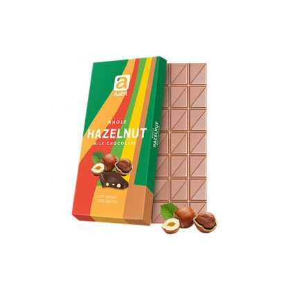 Aalst Whole Hazelnut Milk Chocolate 100 gram