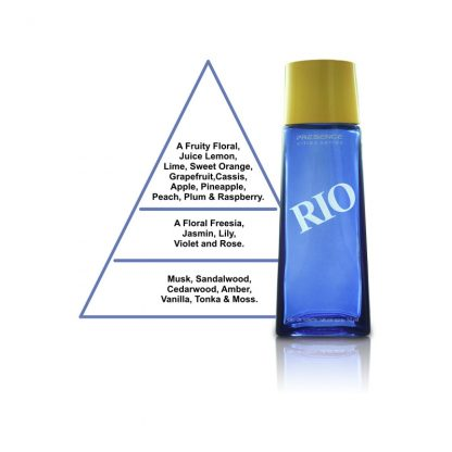 Presence Cities Series Rio Eau de Toilette for Men 50 ml