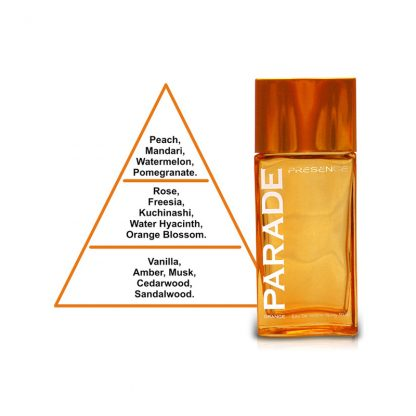 Presence Parade Orange Eau de Toilette for Women 50 ml