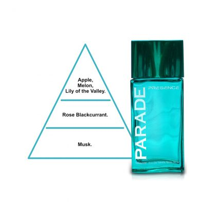 Presence Parade Turquoise Eau de Toilette for Men 50 ml