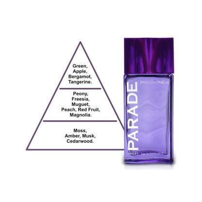 Presence Parade Violet Eau de Toilette for Women 50 ml