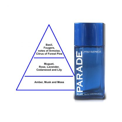 Presence Parade Blue Eau de Toilette for Men 50 ml