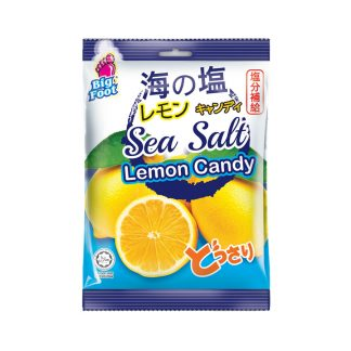 Big Foot Sea Salt Lemon Candy 150gram